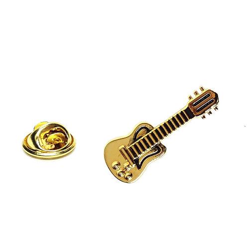 279564M | Lapel Pin Badge | Electric Guitar