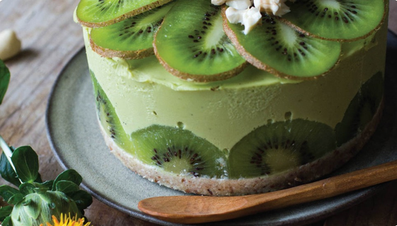 Raw Avocado Cake