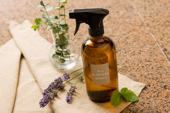 Dump the toxins. Clean Your Home with Essential Oils