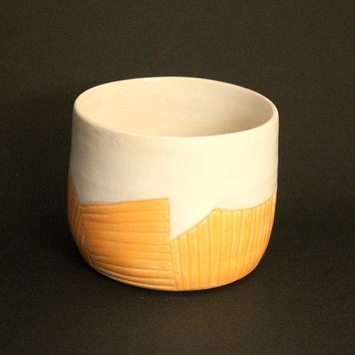 Incised Orange cup