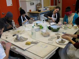 Ceramics classes at SKETCH Toronto, Canada 2015