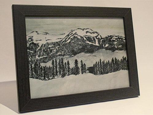 Whistler Blackcomb Mountain Art Print