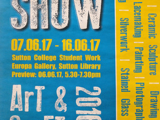 Exhibition at the Europa Gallery, Sutton College