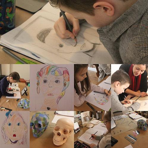 Children's Saturday Art Classes - New 5 Week Term January - February 2020