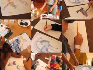 Magical Unicorns Art Holiday Workshop