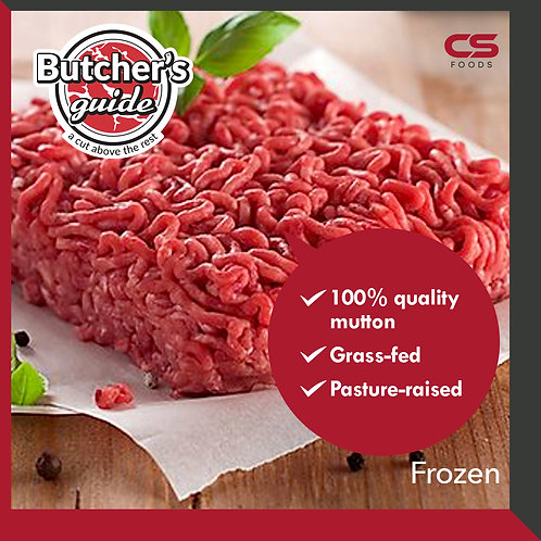 Butcher's Guide Mutton Mince