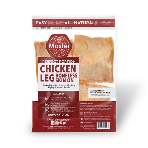 Chicken Legs Boneless Pre-portion 6pcs