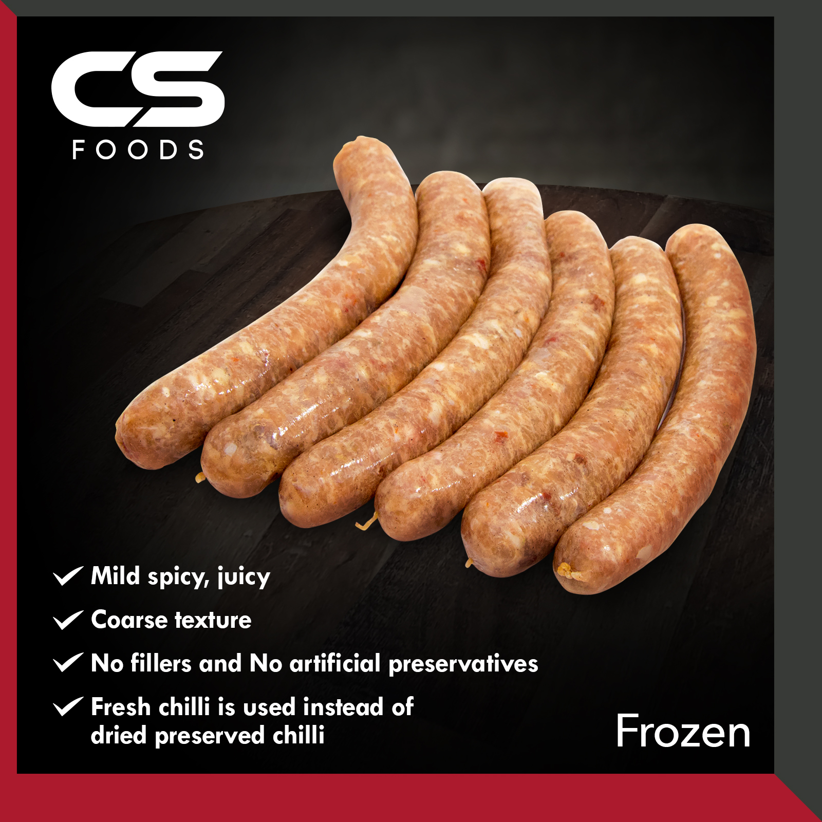 81)CS_Spicy-Chicken-Sausage-500g