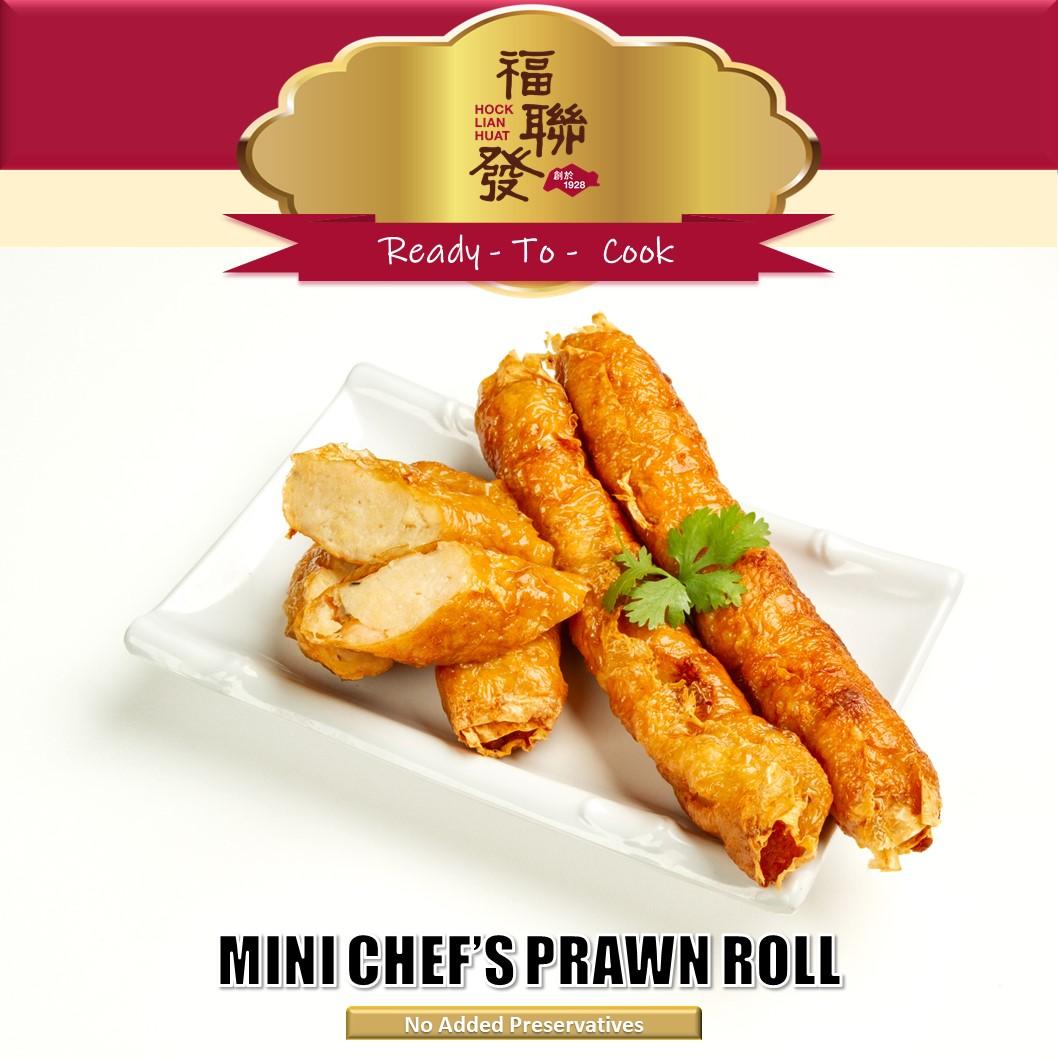 Mini Chef_s Prawn Roll