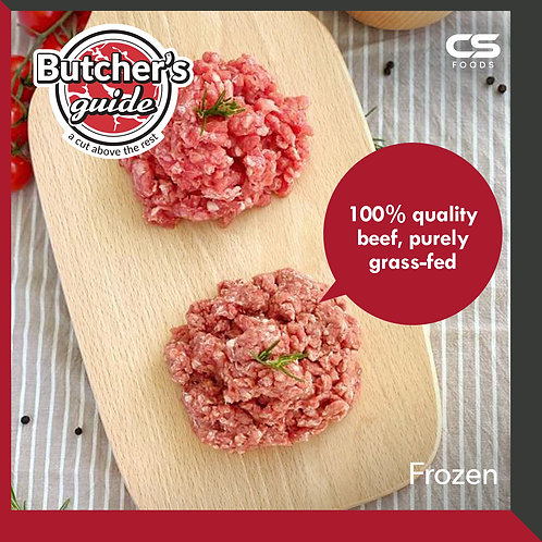 Butcher's Guide Beef Mince