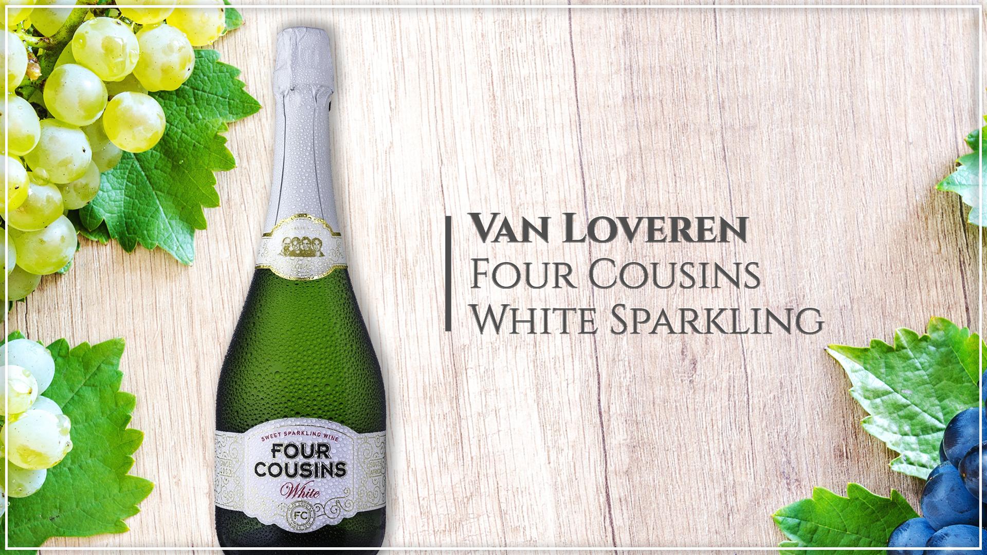Van Loveren Four Cousins White Sparkling