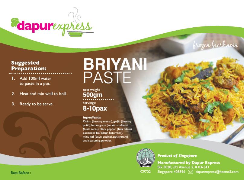 Briyani Paste