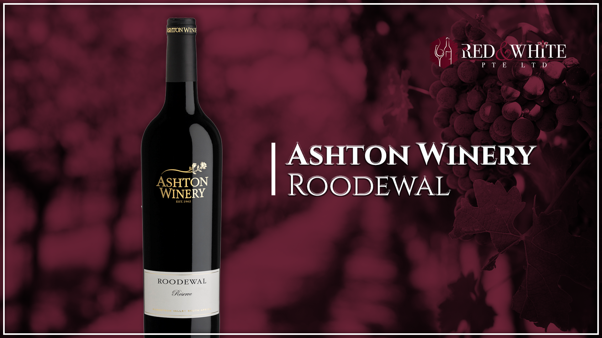 Ashton Winery Roodewal
