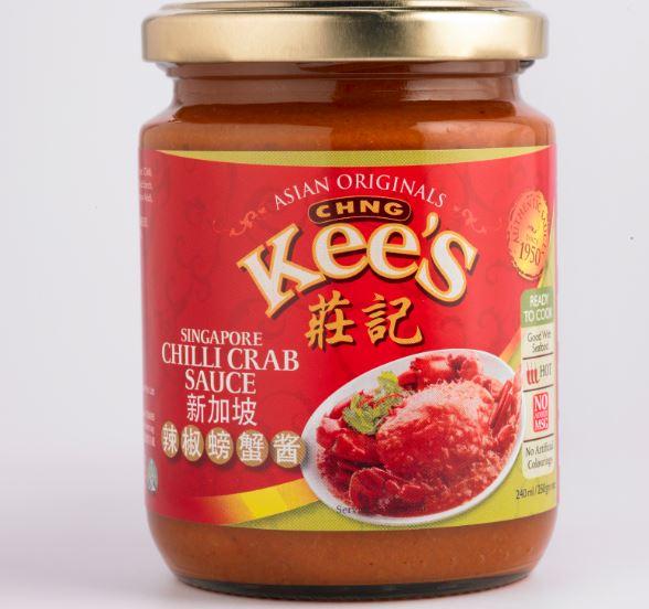 Singapore Chiili Crab Sauce