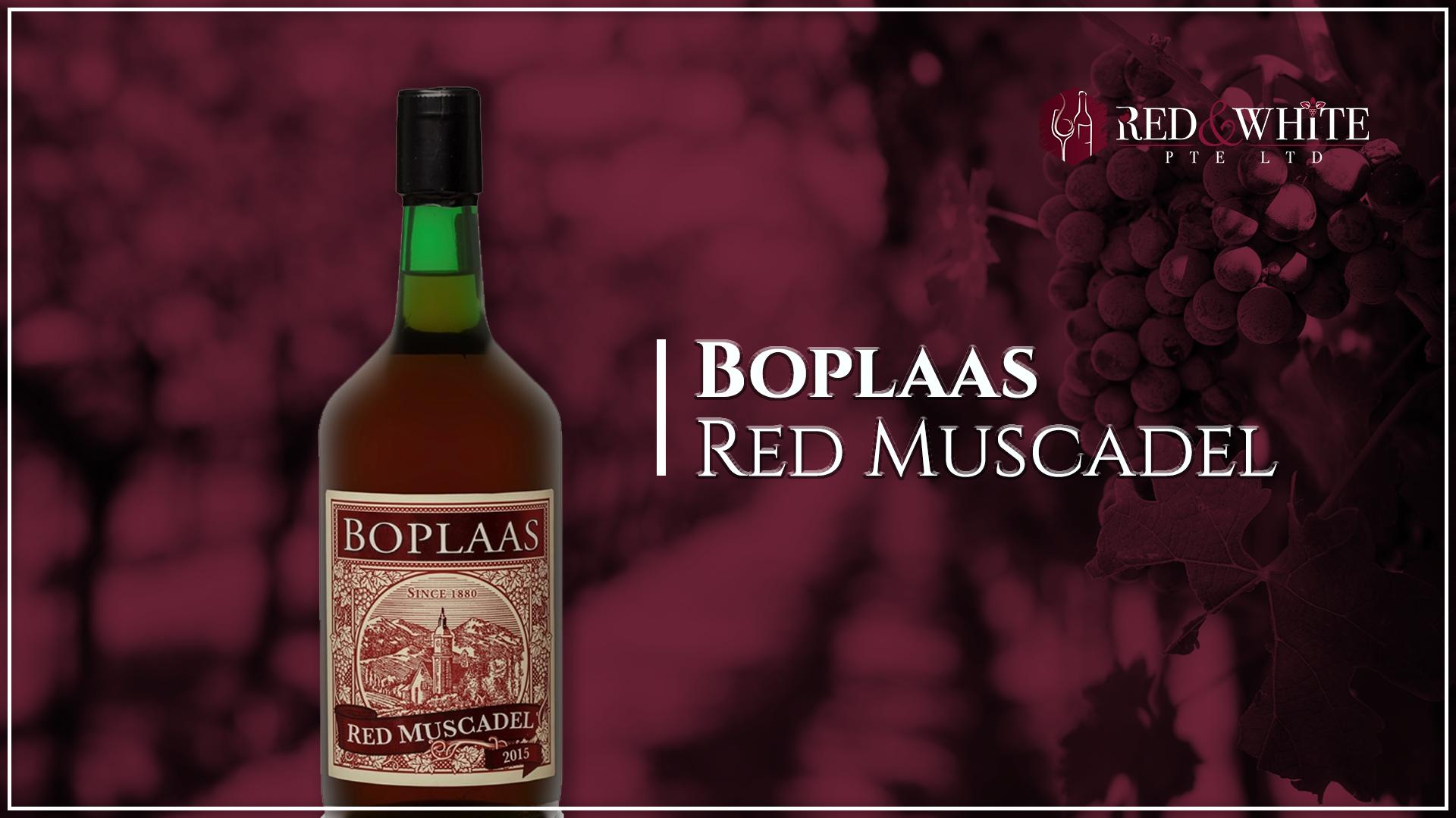 Boplaas Red Muscadel