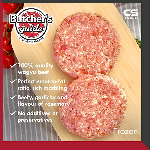 Butcher's Guide Wagyu Beef Patty