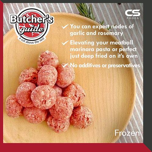Butcher's Guide Beef Meatball