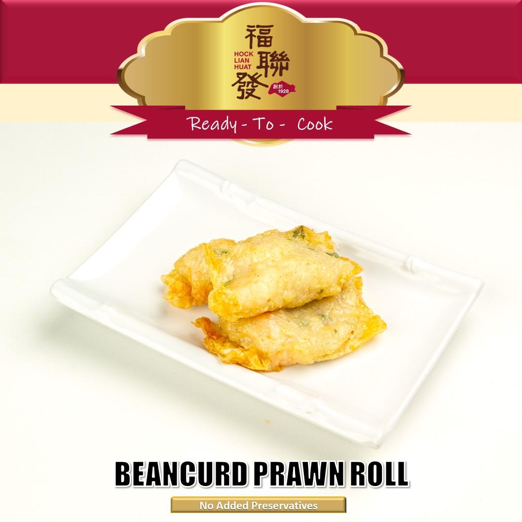 Beancurd Prawn Roll