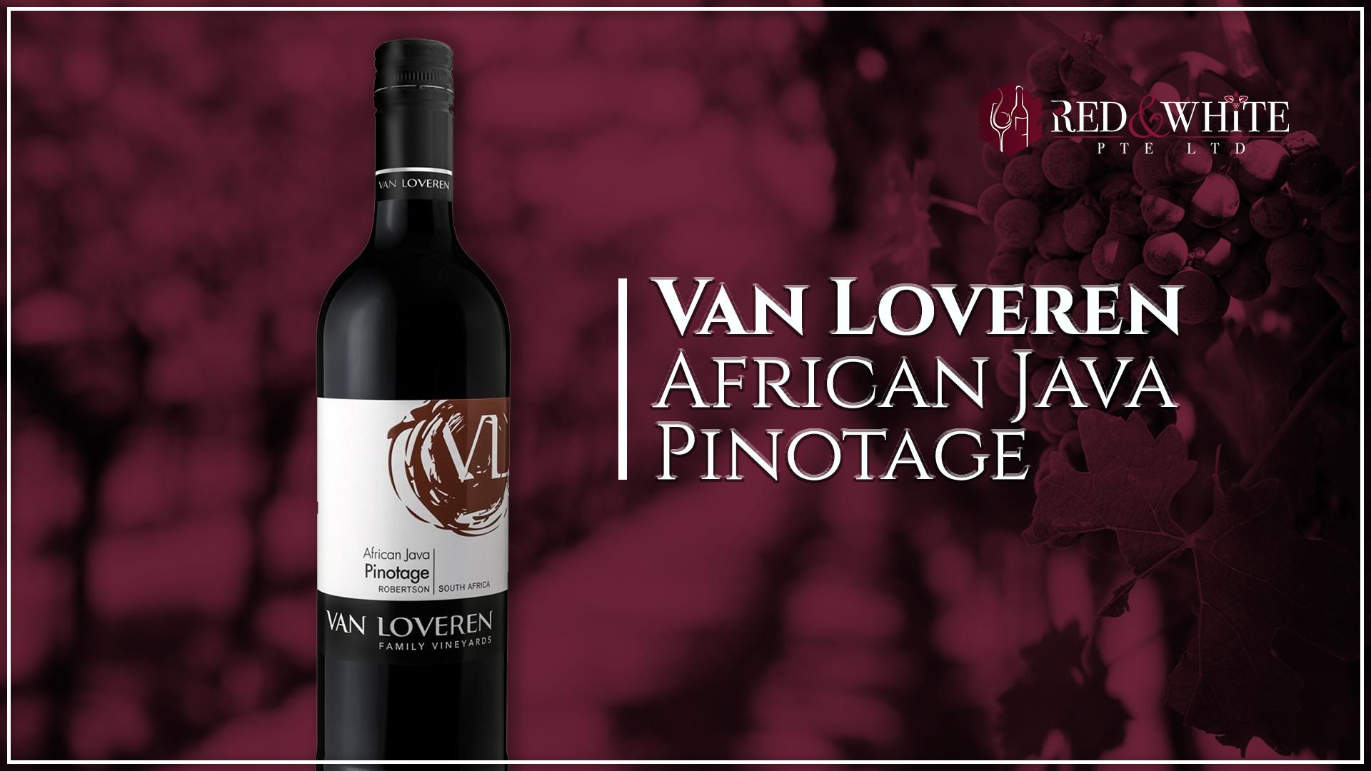 Van Loveren African Java Pinotage