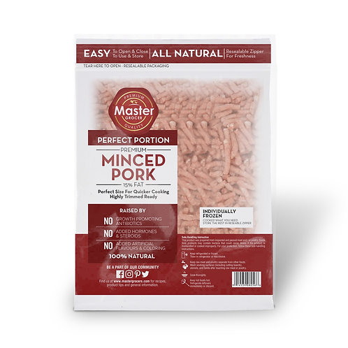 Frozen Mince Pork 500g