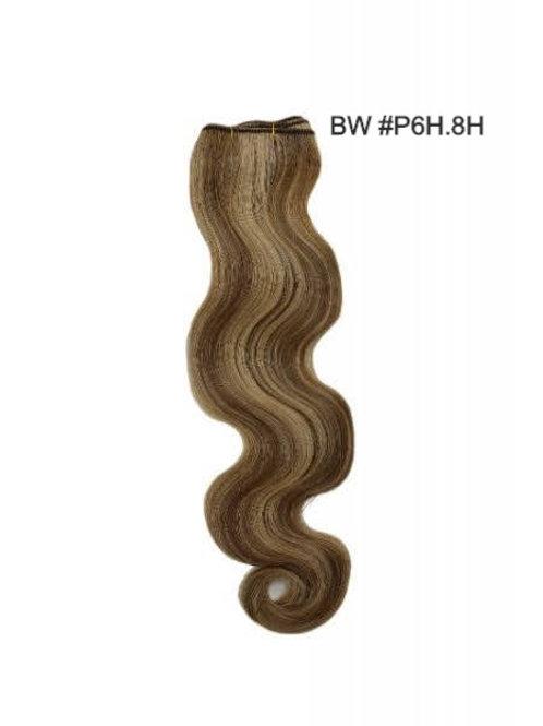 100 % Cuticle Remi Hair-P6H.8H