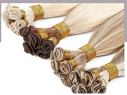 20″ Remi Silky Straight Hand-Tied Weft Human Hair (8 Bundles)