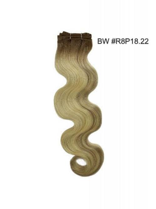 100 % Cuticle Remi Hair-R8P18.22