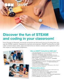 SAM Labs SMART-coding-kits