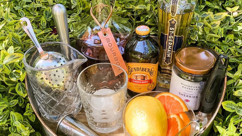 DIY Bourbon Cocktail Kit # 2 - Jay's Ginger Germain