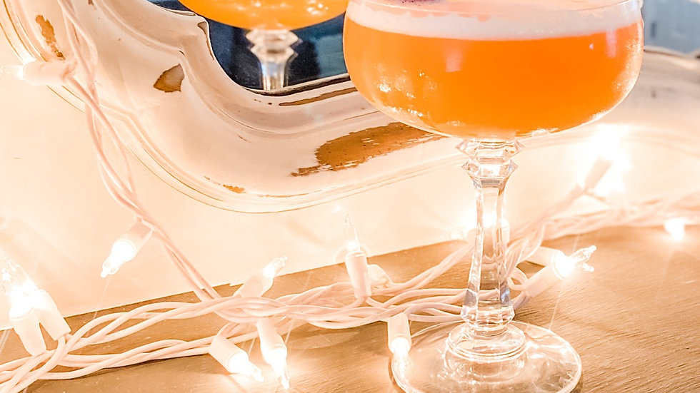 DIY French Martini