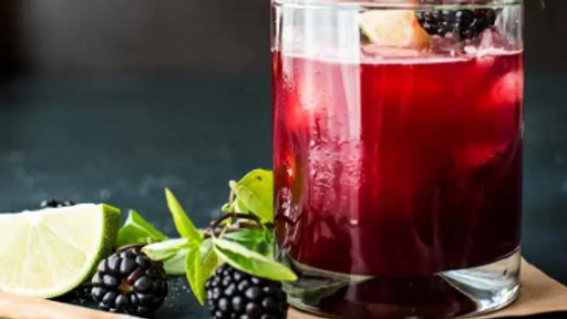 DIY Cocktail Kit Blackberry Smash
