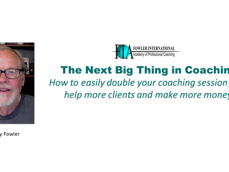 How to Easily Double Your Coaching Session Fees