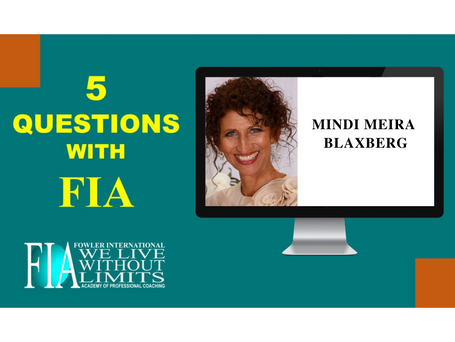 5 Questions with FIA featuring Coach Mindi Meira Blaxberg