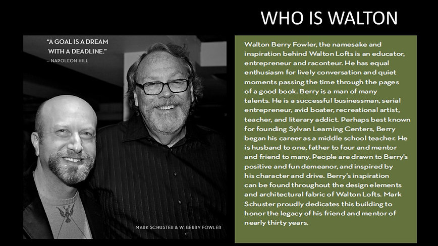 Who is Walton Berry Fowler