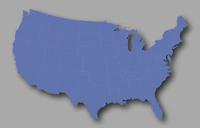 Breakaway Hockey Tournaments USA Map blu