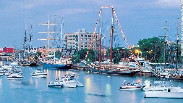 Bay City MI. sailing ships