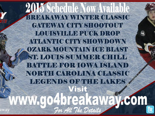 2015 Breakaway Tournament Schedule Released