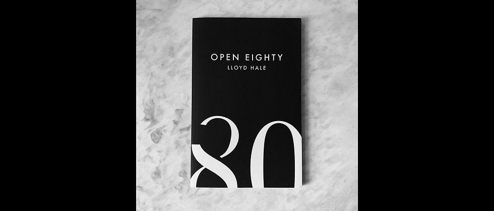 Open Eighty Book