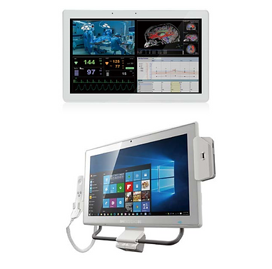"24"" Mobile Point of Care PC"