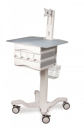 SH160 Lightweight Cart with Sit and Stand adjustment