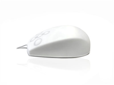 USB & PS/2 Full Size Sealed IP67 Antibacterial Medical Mouse