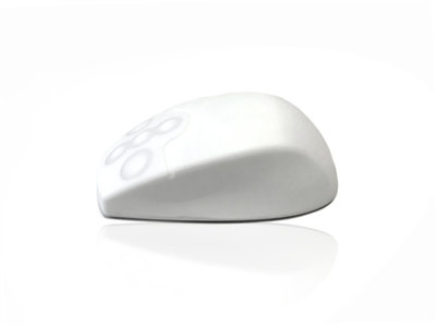 RF 2.4GHz Wireless Full Size Sealed IP67 Antibacterial Medical Mouse