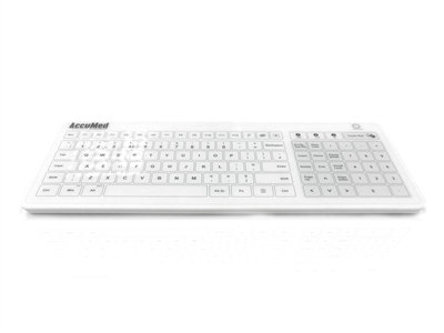 Glass Wired & Wireless Clinical / Medical Touchpad Keyboard