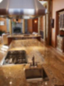 Southwest granite kitchen
