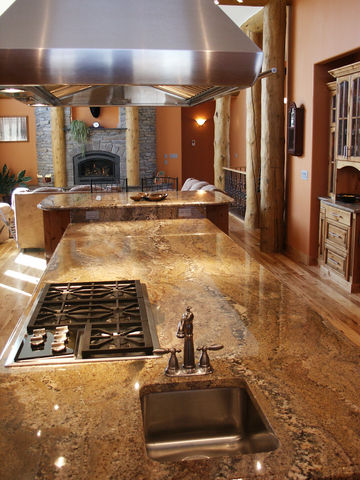 Southwest granite kitchen