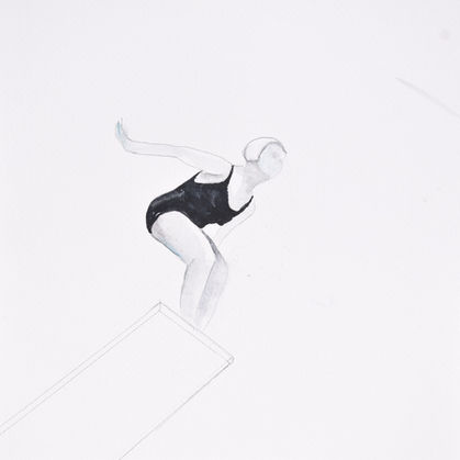 jane Fauntz (Olympic Team), c 1930 #2jan