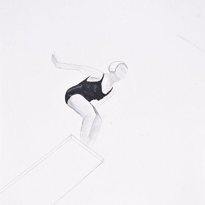 Jane Fauntz (Olympic Team), c 1930  NO.1