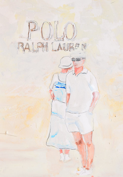 TENNIS POLO RALH LAURENT #2