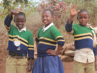Tanzanian Children Share About Going Back to School During COVID-19