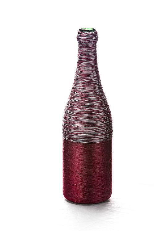 Wine Silver Mix Wine Bottle Art
